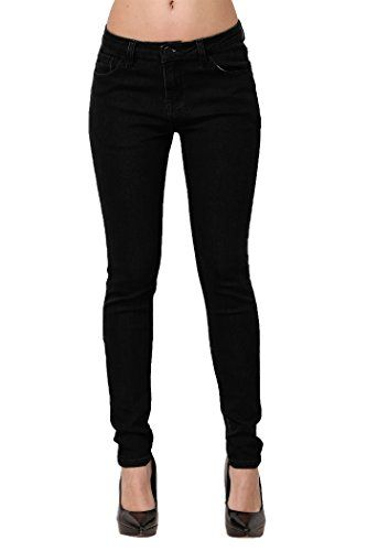 New Trending Denim: Skinny Jeans, ZLZ Womens Casual Butt Lift Stretch Jeans Leggings (8, Solid Black). Skinny Jeans, ZLZ Women's Casual Butt Lift Stretch Jeans Leggings (8, Solid Black)   Special Offer: $23.99      366 Reviews ZLZ Butt Lift Skinny Stretchy Jeans designs for lifting your hips and shaping your curves, making you slim and attractive. Highlight: 1.Comfy stretch jeggings...