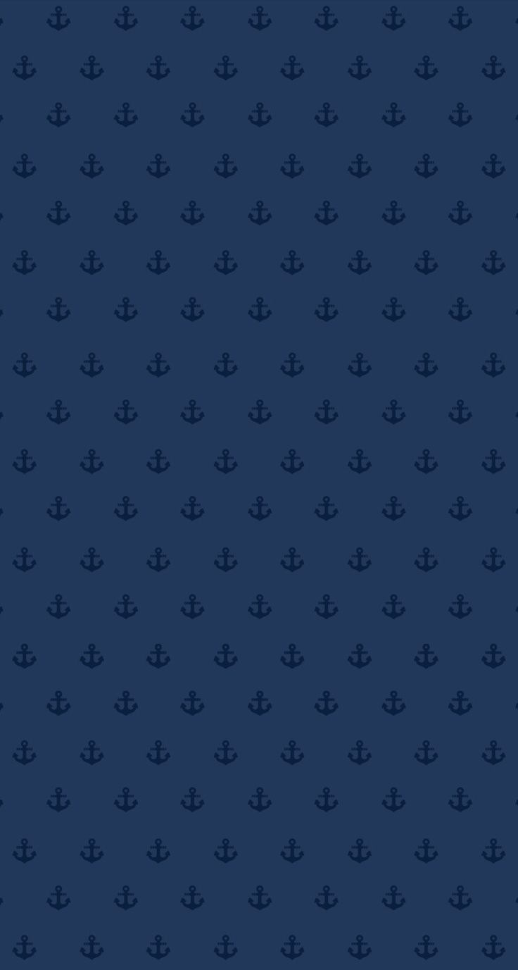 Navy blue mini ditsy anchors iphone wallpaper background phone lock screen