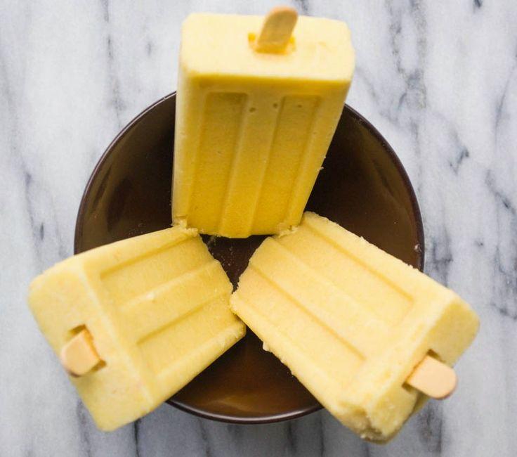 Kitchen Cheetahs: Copy-Cat Outshine Mango Frozen Fruit Bars or Full-O-Fruit Pops