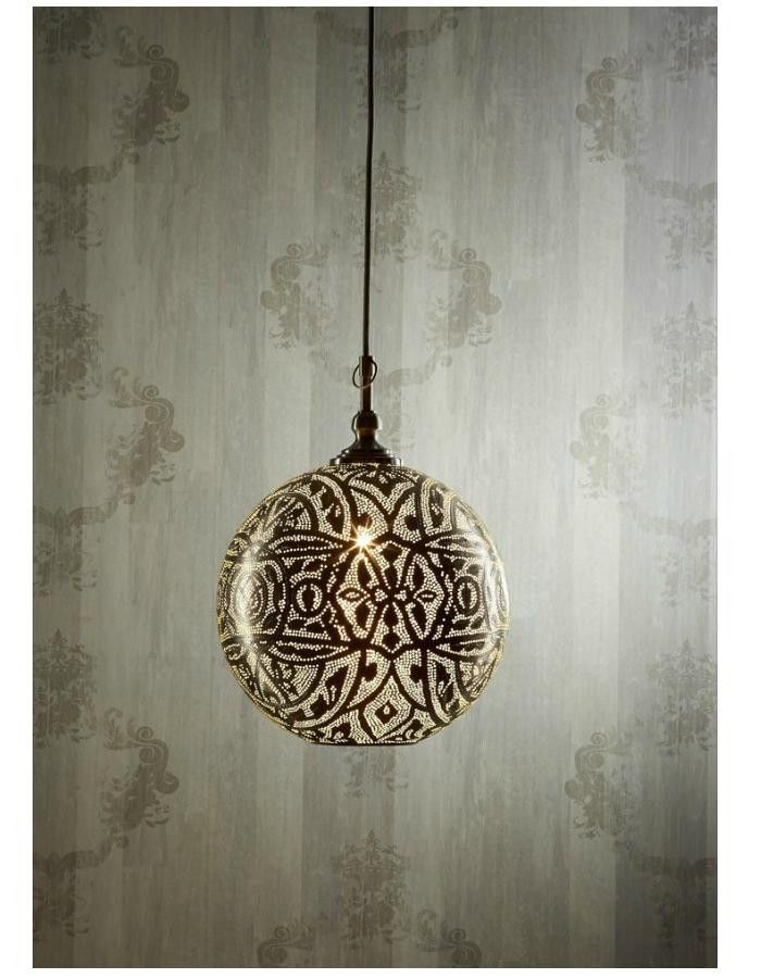 Moroccan Ball Pendant Light – Chic Chandeliers