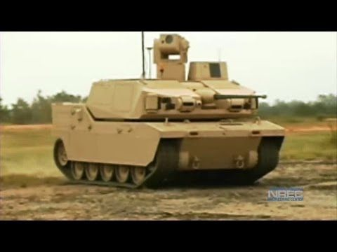 National Robotics Engineering Center (NREC) developed sensing, teleoperation and autonomy packages for BAE System's Black Knight, a prototype Unmanned Ground Combat Vehicle (UGCV).    Black Knight demonstrates how UGCVs can be used in the field and showcases current robotics technologies. NREC applied its expertise in sensor fusion, unmanned sys...