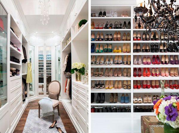 M s de 1000 ideas sobre como organizar un closet en - Como organizar un armario empotrado ...