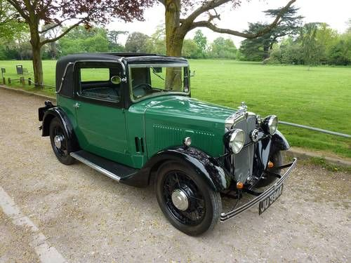 Morris 104 Special Coupe (1934) Classic cars, Motor car