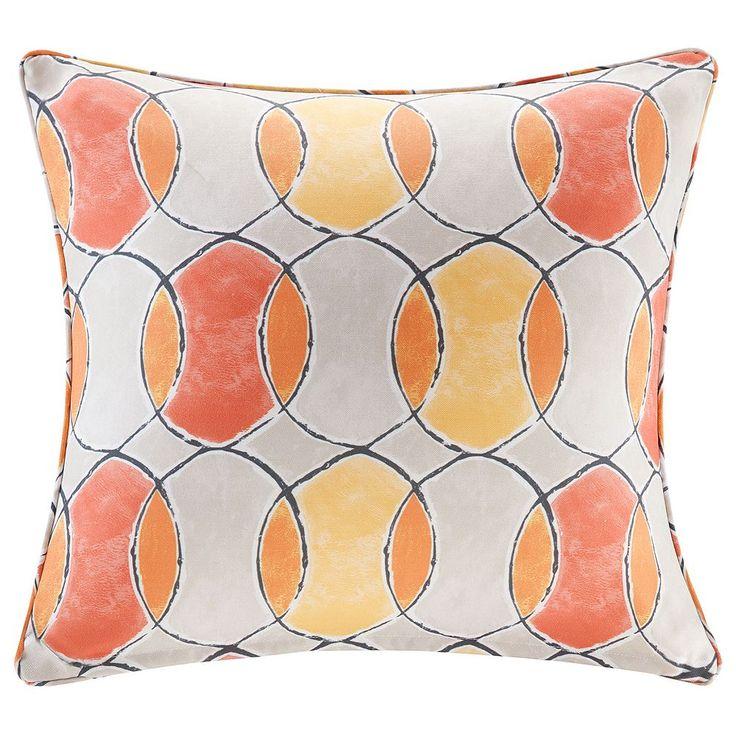 Madison Park 3M Scotchgard Outdoor Medium Throw Pillow, Multicolor