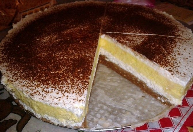 Vaníliás-túrós krémes sütés nélkül recept képpel. Hozzávalók és az elkészítés részletes leírása. A vaníliás-túrós krémes sütés nélkül elkészítési ideje: 30 perc