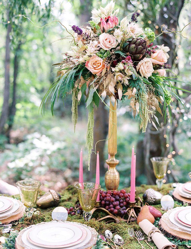 Moss Covered Fairyland Wedding Inspiration 299 best treehouse