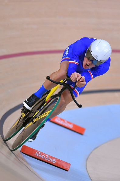 31st Rio 2016 Olympics / Track Cycling Men's Omnium Individual Pursuit 26 Thomas BOUDAT / Rio Olympic Velodrome / Summer Olympic Games /