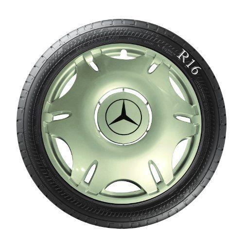 Lot de 4 enjoliveurs pour Mercedes Vito, pour jantes 16pouces: Facile à monter et sont probablement les meilleurs Mercedes Lot de 4…