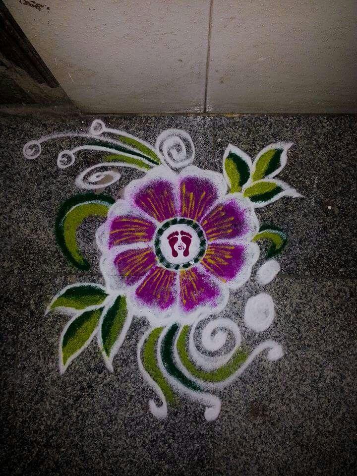 Rangoli from Sheetal creativity.