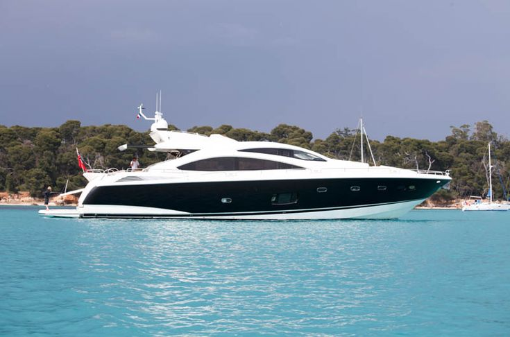 Sunseeker's Predator 84 Phantom is built to high specification, she offers large interior and very versatile exterior options including a retractable sun awning on the aft deck. Description from liveyachting.com. I searched for this on bing.com/images