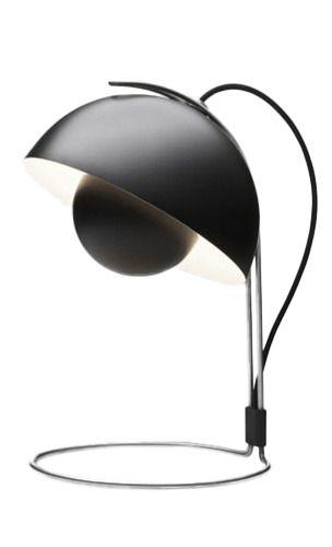 Black Flower Pot Lamp
