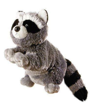 Look what I found on #zulily! Bandit Raccoon Hand Puppet #zulilyfinds