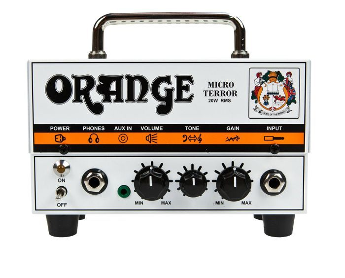 Orange AmplifiersMicro Terror MT20 20W Hybrid Guitar Amp Head.. they sound amazing.. for the size..and price..can get with a cab