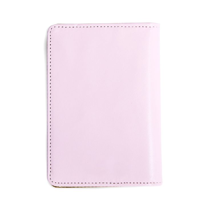 White Colour Patent Leather Women Passport Holder