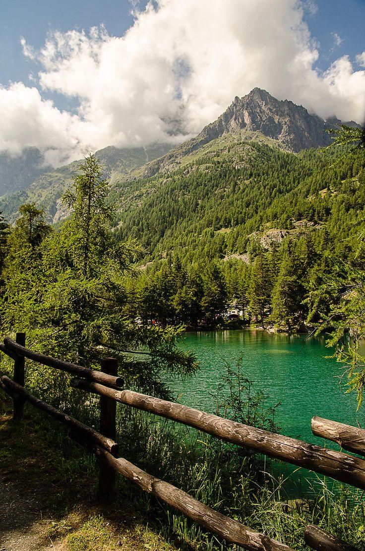 Lake Lexert, Valle d'Aosta, Italy