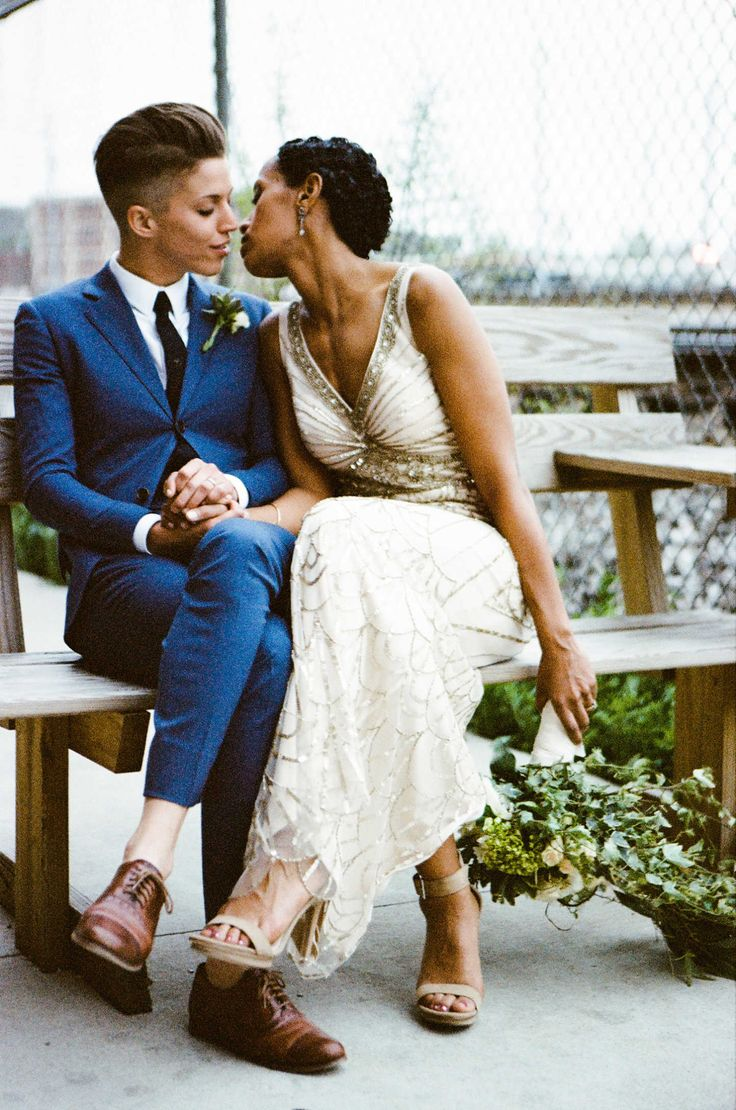 60 best tomboy wedding ideas images on pinterest short for Wedding dresses for tomboy brides