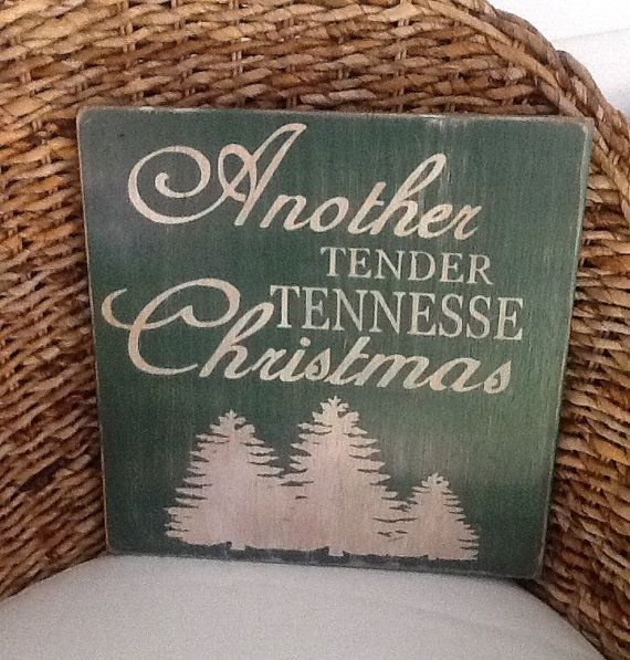 Another Tender Tennessee Christmas by HomeDco on Etsy, $28.00
