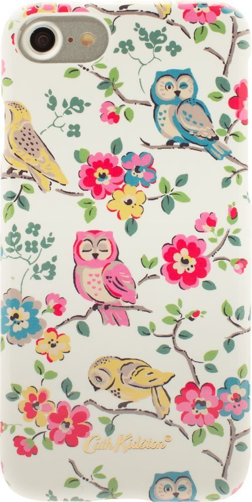 Cath Kidston: Mini Owls & Flowers - Official iPhone 7 Protective Case - CO9067