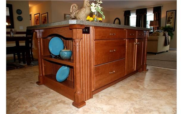 Extremely functional kitchen island design the gala 6 - Functional kitchen island designs ...