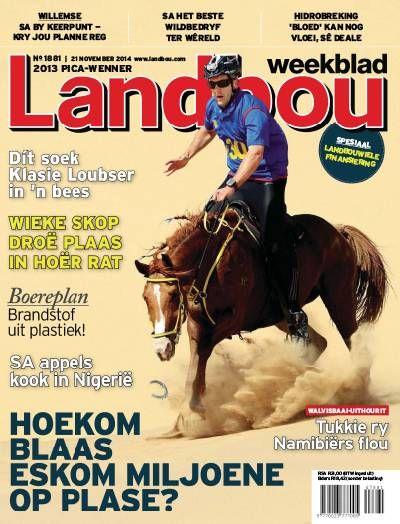 Landbouweekblad. South African. Local. Afrikaans. Lifestyle.