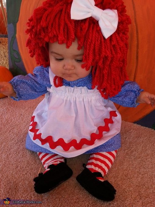 Raggedy Ann Baby Costume - Halloween Costume Contest via @costume_works