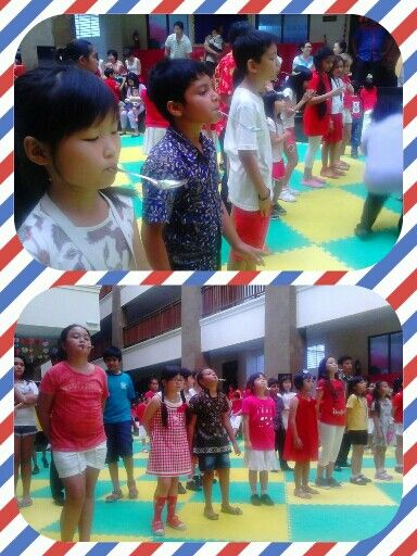 Marbles competition- Indonesian Independence day
