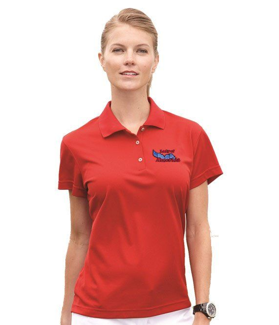 15 best custom womens polo shirts embroidered images on for Custom adidas dri fit shirts