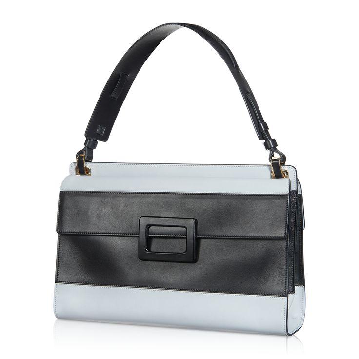 Roger Vivier - Miss Viv Bandeau Shoulder Bag in Leather #theluxer #thestories #RogerVivier #EleonoraCarisi