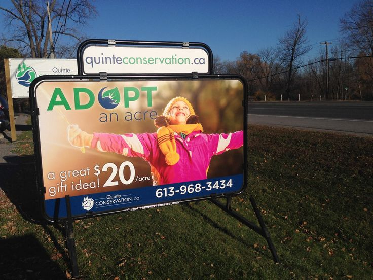 Great #Gift #Idea. Adopt An Acre of #Quinte Conservation land for $20! http://quinteconservation.ca/site/index.php?option=com_content&task=view&id=224&Itemid=91