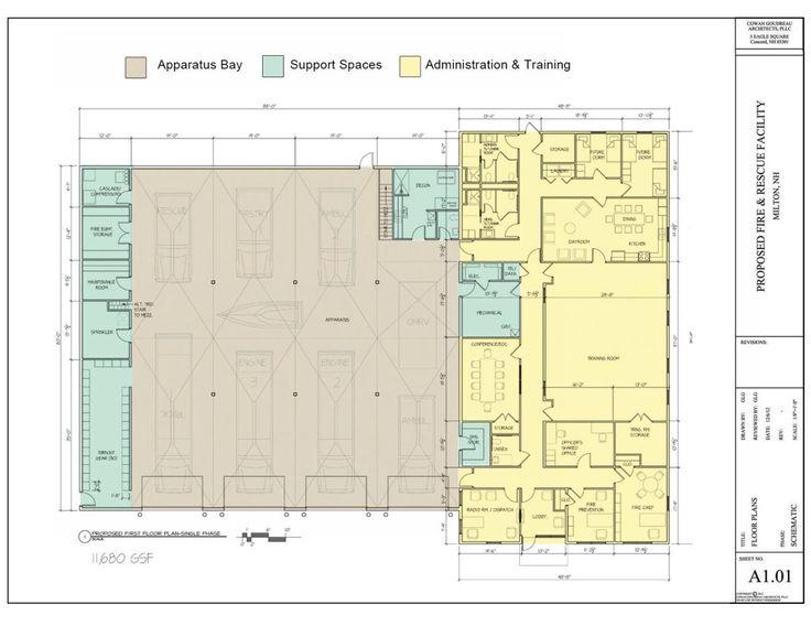 Firehouse Design Station Floor Plan on ambulance design plan, firehouse interior design, firehouse floor plans dimensions,