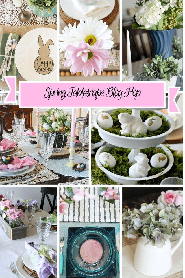 Seriously adorable Spring Tablescape ideas!