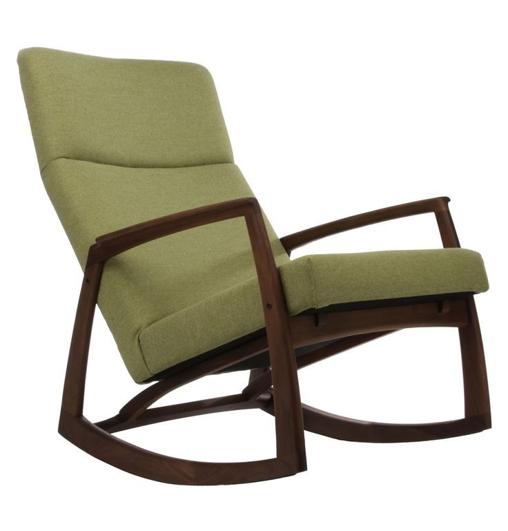 Edvard Danish Design Rocking Chair   Matt Blatt