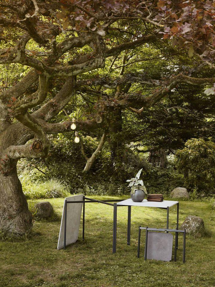 EH6 - Dining Table. #diningtable #concretetable #table #concrete #danishdesign #nature #inspiration