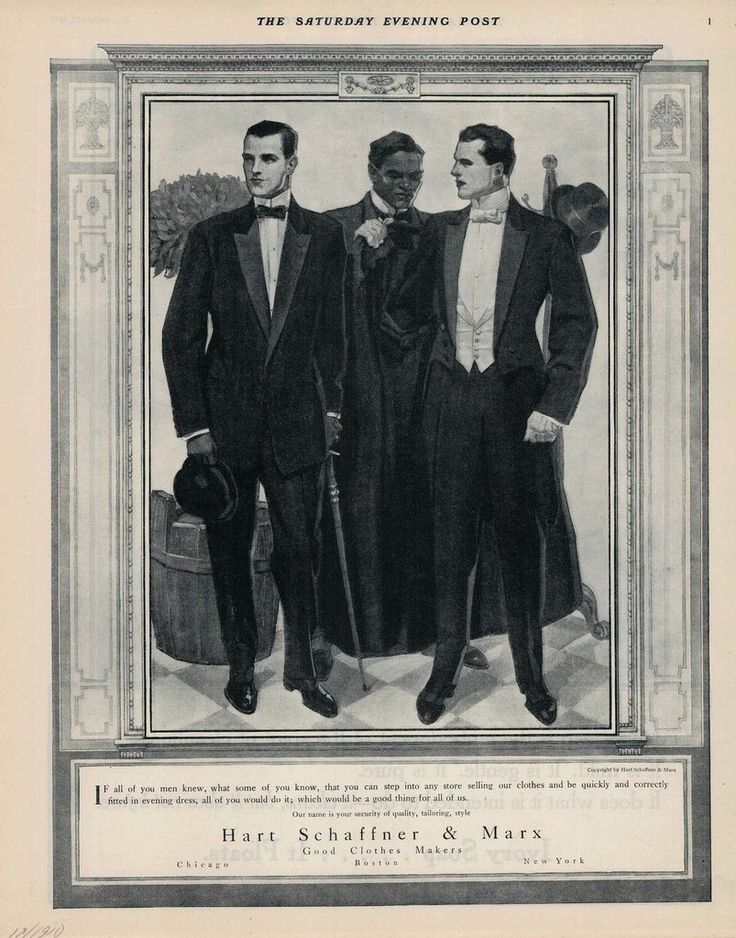Hart Schaffner and Marx ad, 1911.