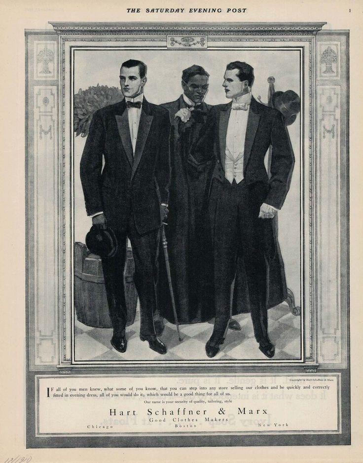 Hart Schaffner and Marx ad, 1911.