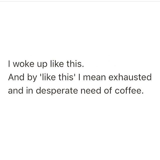 Where my coffee at tho??? ☕️
