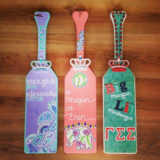 181 best Paddles images on Pinterest | Sorority crafts, Alpha phi ...