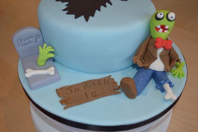 La torta de zombies