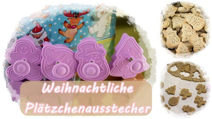 Plätzchenausstecher - Mit Weihnachtlichen Motiven