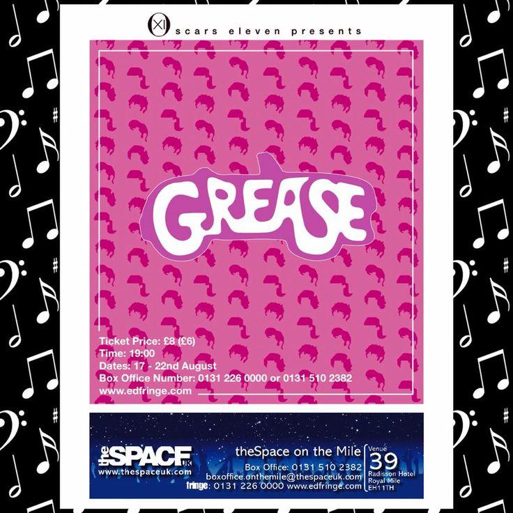 Get yourselves up to Edinburgh! #oscarsXI @oscars_11 #Grease