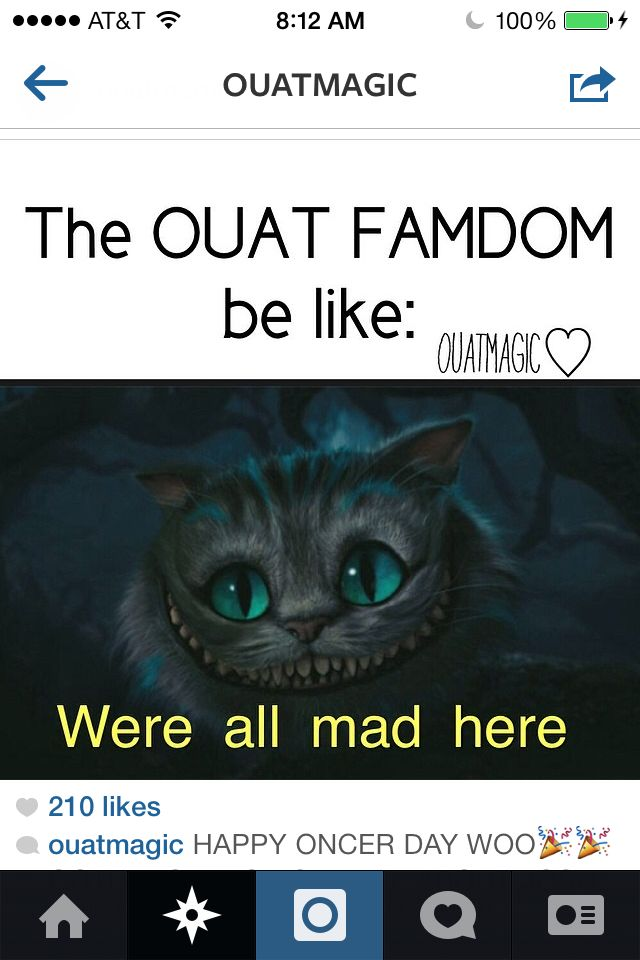 OUaT funny......... #we're......... Sorrry I could not help it.... Yes I am a grammar Nazi.