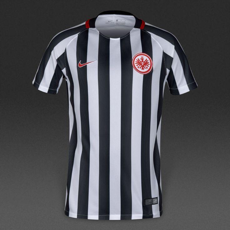 Nike Frankfurt 16/17 Kids Home Stadium Shirt - White/University Red