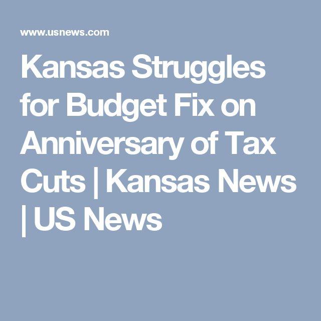 Kansas Struggles for Budget Fix on Anniversary of Tax Cuts | Kansas News | US News