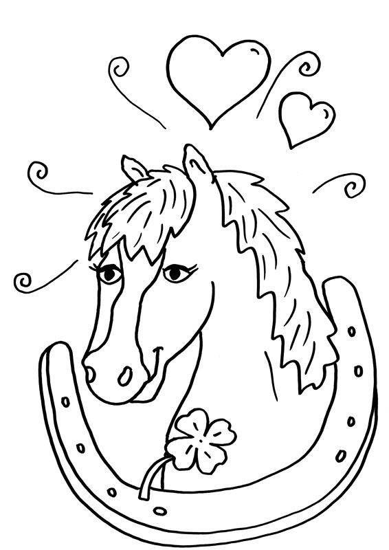 Ausmalbilder Pferde Kostenlose Ausmalbilder Malvorlagen