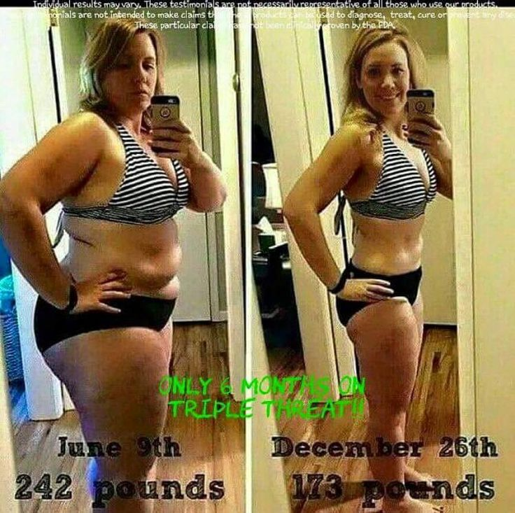 This gal is so thrilled with her results!!!!  6 months on the TRIPLE THREAT!!   the triple threat includes greens, thermofit, and fat fighters  Call or text 520-840-8770 http://bodycontouringwrapsonline.com/weight-loss/it-works-triple-threat-weight-loss-challenge