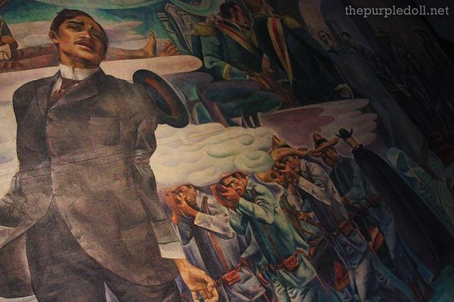 The Martyrdom of Rizal by Carlos Botong Francisco, a