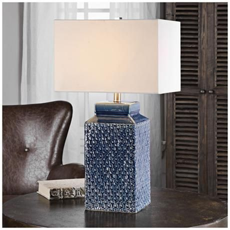 432 best lamps images on Pinterest | Blue lamps, Blue table lamp ...
