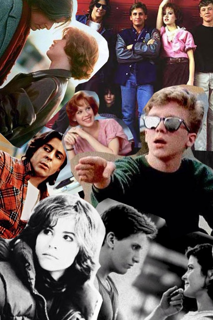 The breakfast club collage! Haha