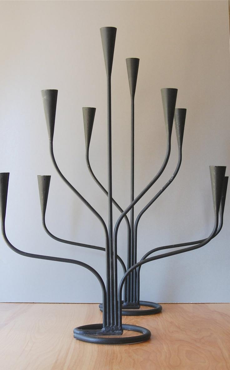 1000+ images about Lamparas y candelabros en hierro on ... - photo#16
