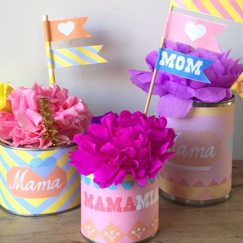 Mother's Day printable labels: Make your own special gift for mum